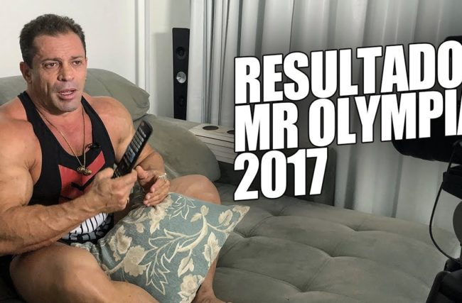 Fernando Sardinha – Resultados do Mr Olympia 2017
